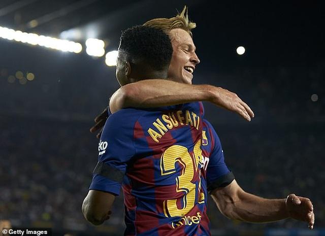 Barcelona 5-2 Valencia: Cú đúp của Luis Suarez - 5