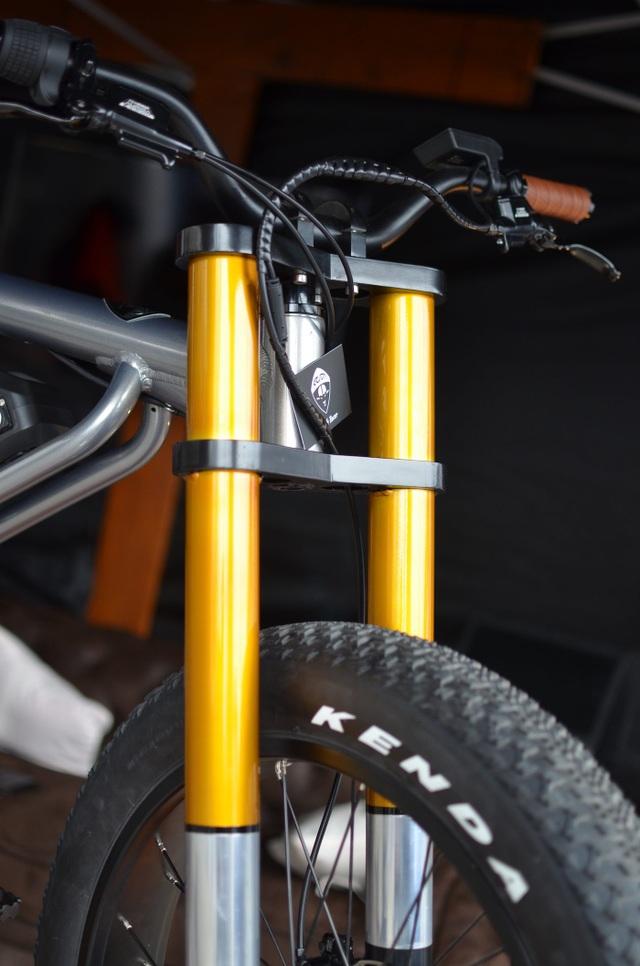 Soi chi tiết chiếc xe đạp điện cá tính, linh hoạt bậc nhất Le Cafe Racer - 3