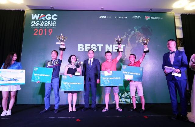 """""""Mưa Eagle"""" tại vòng loại phía bắc FLC WAGC Vietnam 2019 - 3"""