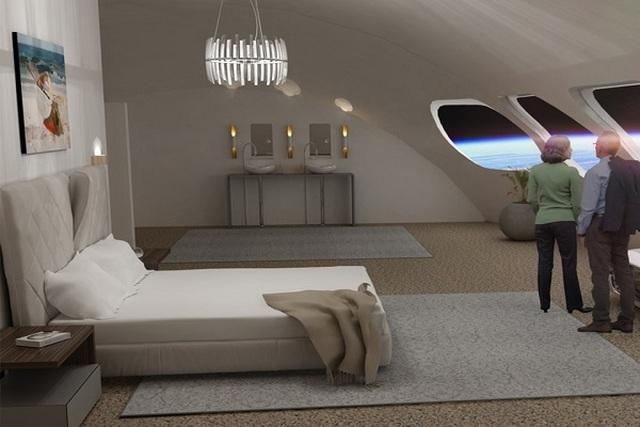 Chán Trái đất, vậy ngủ trong khách sạn giữa vũ trụ thì sao? - 2