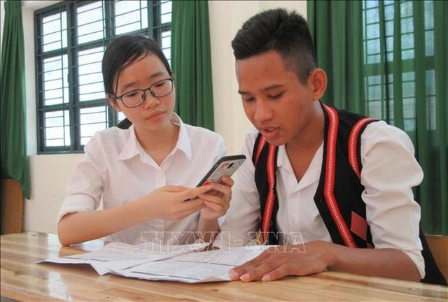Học sinh miền núiNinh Thuận sáng chế phần mềm học tiếng Raglai trên điện thoại - 1