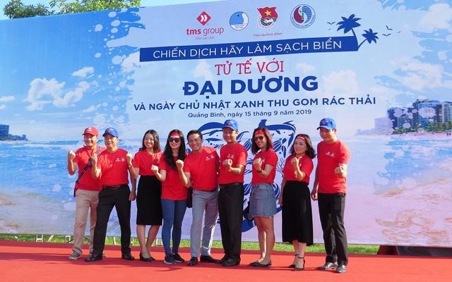 """Quảng Bình: 1.000 bạn trẻ tham gia chiến dịch """"Hãy làm sạch biển - Tử tế với đại dương"""" - 1"""