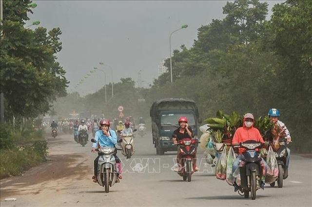 Không khí Hà Nội ô nhiễm ở mức nghiêm trọng - 5