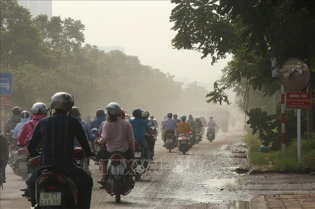 Không khí Hà Nội ô nhiễm ở mức nghiêm trọng - 6