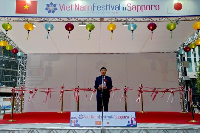 Nguyên Chủ tịch nước Trương Tấn Sang dự Lễ hội Việt Nam tại Sapporo 2019 - 3