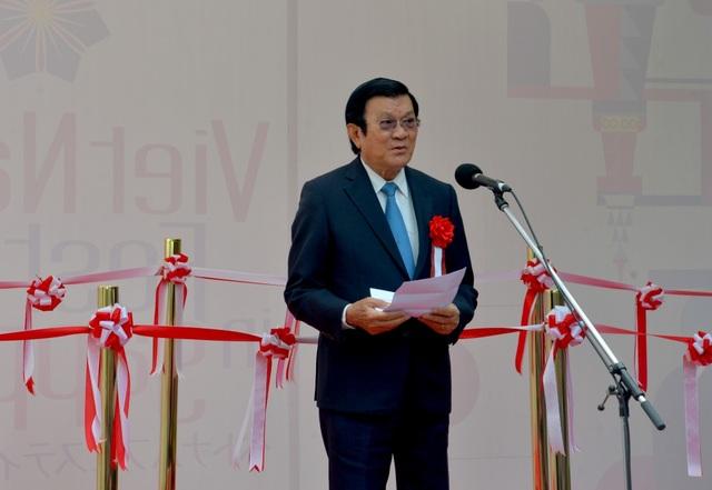 Nguyên Chủ tịch nước Trương Tấn Sang dự Lễ hội Việt Nam tại Sapporo 2019 - 1