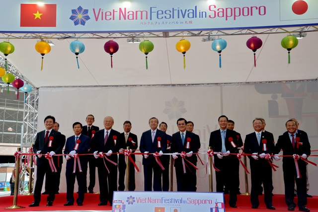 Nguyên Chủ tịch nước Trương Tấn Sang dự Lễ hội Việt Nam tại Sapporo 2019 - Ảnh minh hoạ 4