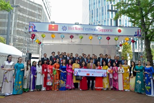 Nguyên Chủ tịch nước Trương Tấn Sang dự Lễ hội Việt Nam tại Sapporo 2019 - Ảnh minh hoạ 7