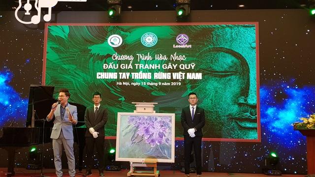 """Đấu giá hơn 100 bức tranh ủng hộ quỹ """"Chung tay trồng rừng Việt Nam"""" - Ảnh minh hoạ 3"""