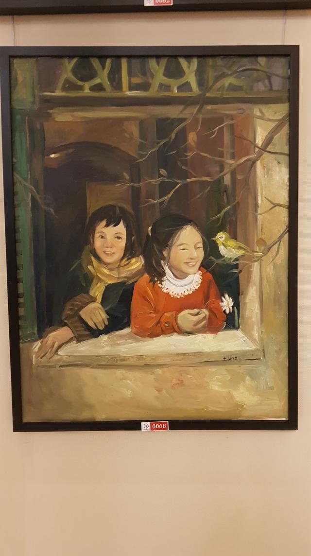 """Đấu giá hơn 100 bức tranh ủng hộ quỹ """"Chung tay trồng rừng Việt Nam"""" - Ảnh minh hoạ 6"""