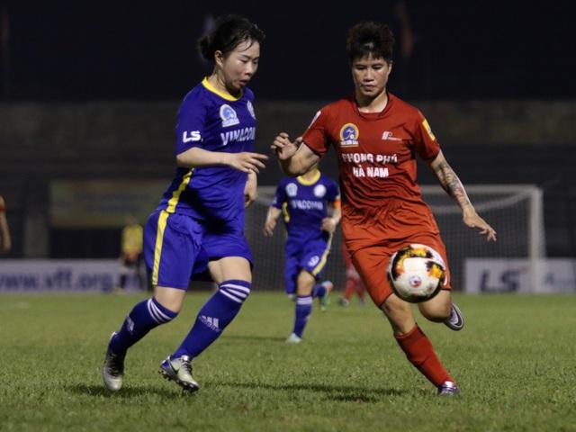 Kết quả bất ngờ tại giải bóng đá nữ vô địch quốc gia 2019 - 1