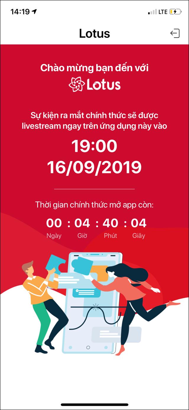 Cài trước app Lotus để xem livestream Lễ ra mắt Mạng xã hội Lotus - 7