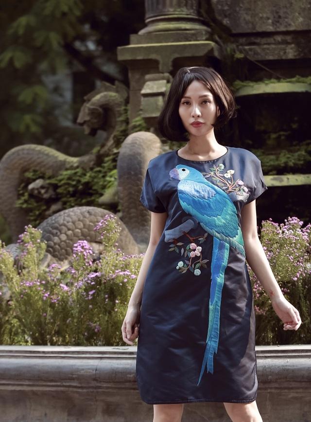 Chiêm ngưỡng hai bộ sưu tập lấy cảm hứng nhiệt đới của Cao Duy và Nhi Hoàng - 9