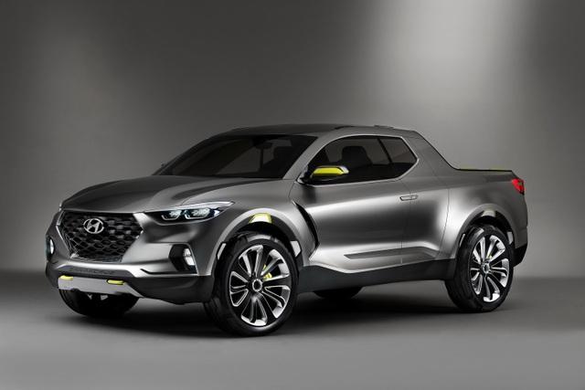 Xe bán tải chưa ra thị trường, Hyundai đã đe Ranger Raptor - 1