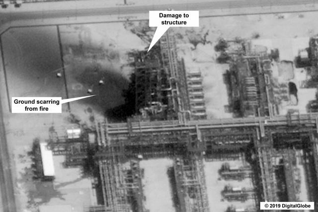 17 địa điểm bị phá hủy trong cơ sở dầu khí Ả rập Xê út bị tấn công - 8