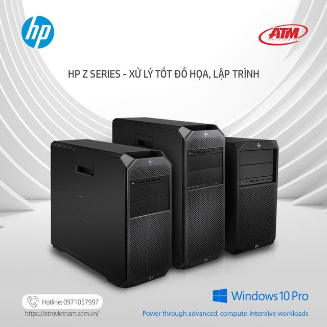 HP Z Series: Giải pháp công nghệ tuyệt vời cho doanh nghiệp IT, thiết kế, production house - Ảnh minh hoạ 2