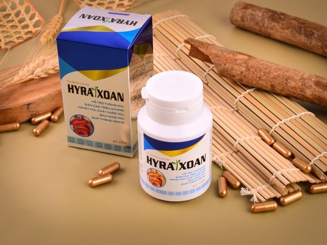 TPBVSK Hyra Xoan – chiết xuất từ 10 loại thảo dược quý, hỗ trợ điều trị viêm xoang hiệu quả. - 1