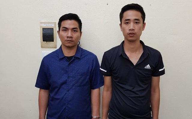 Bắt 2 nghi can gây ra vụ nổ gói bưu phẩm làm nhiều người bị thương ở Hà Nội - 1