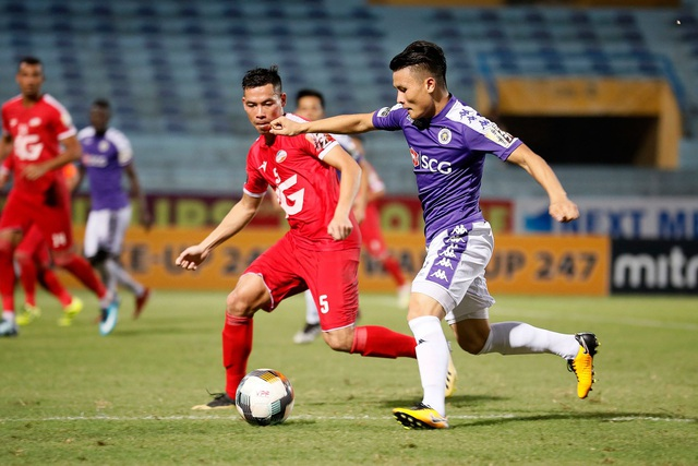 Quang Hải cảm động khi CĐV Hà Nội vẫn cổ vũ phía ngoài sân - 1