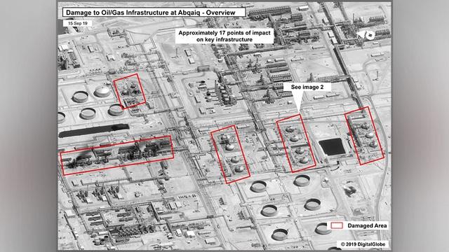 17 địa điểm bị phá hủy trong cơ sở dầu khí Ả rập Xê út bị tấn công - 1
