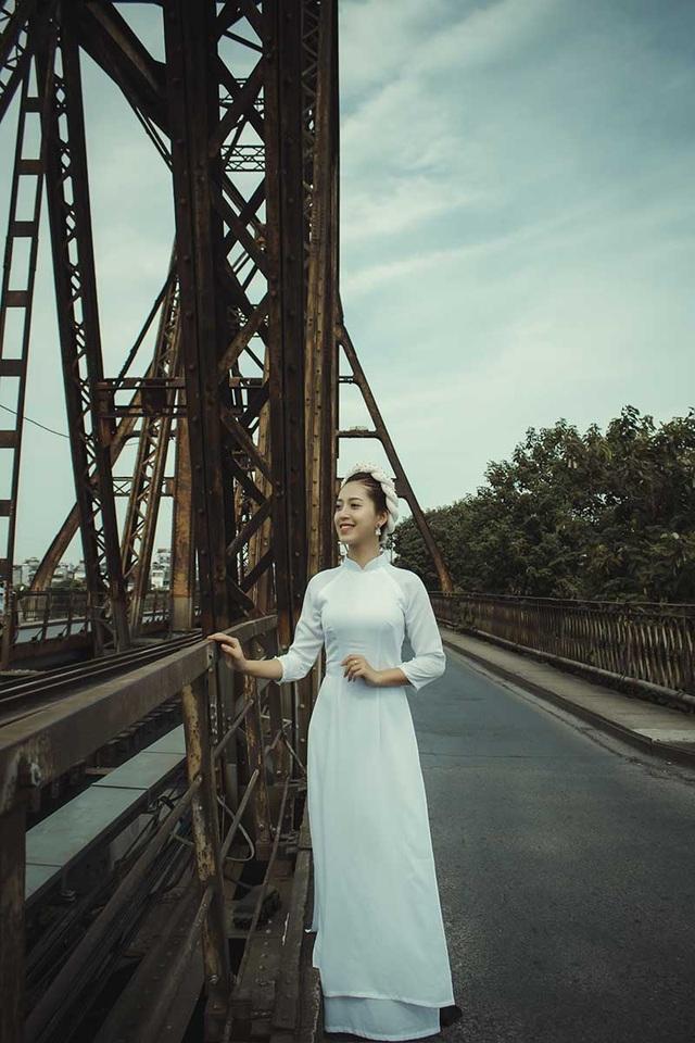 Thiếu nữ Hà thành thích diện áo dài đi du lịch khắp chốn - 9