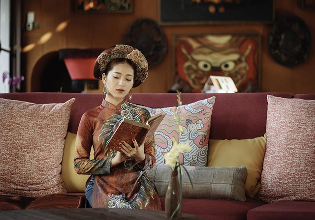 Thiếu nữ Hà thành thích diện áo dài đi du lịch khắp chốn - 7