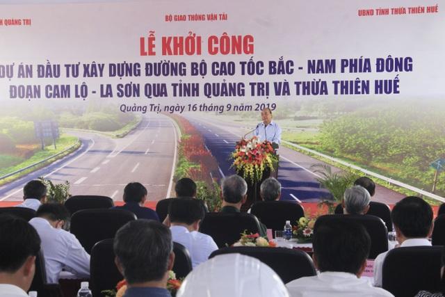 Thủ tướng dự lễ khởi công cao tốc Bắc - Nam đoạn qua Quảng Trị, TT-Huế - 3