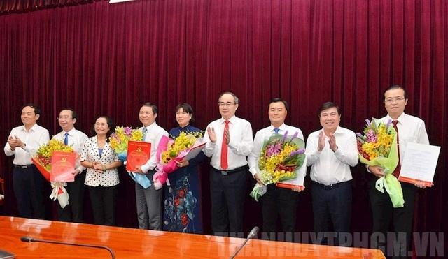 TPHCM có 5 Thành ủy viên mới