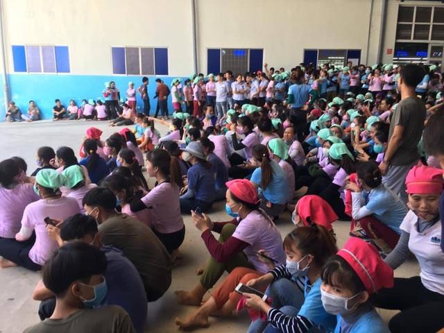 Quảng Nam: Bức xúc vì suất ăn nghi có giòi, hàng ngàn công nhân ngưng việc - 3