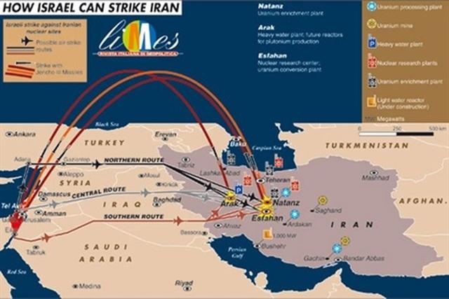 Israel đóng không phận, dấu hiệu sẽ hành động với Iran? - 2
