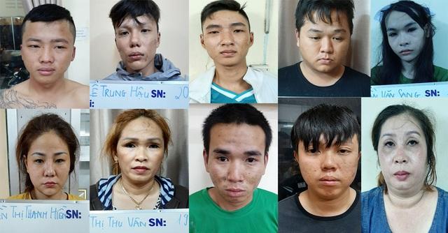 Bắt nhóm dàn cảnh bán dâm trộm tài sản của khách làng chơi ở Sài Gòn - 2