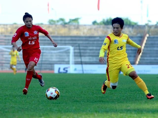 Đội nữ TPHCM có chiến thắng quan trọng trước Hà Nội tại giải vô địch quốc gia - 1