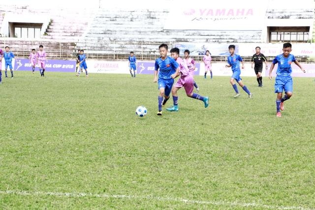 Đắk Lắk: Hấp dẫn trên sân vận động phố núi trận tranh suất vào vòng chung kết U13 Yamaha Cup 2019 - 1