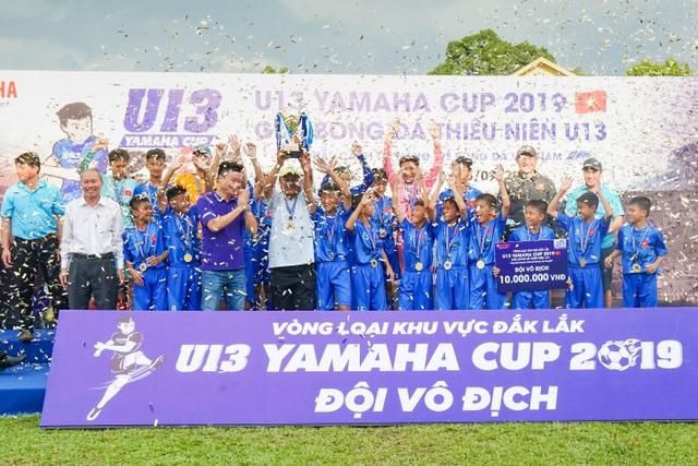 Đắk Lắk: Hấp dẫn trên sân vận động phố núi trận tranh suất vào vòng chung kết U13 Yamaha Cup 2019 - 5