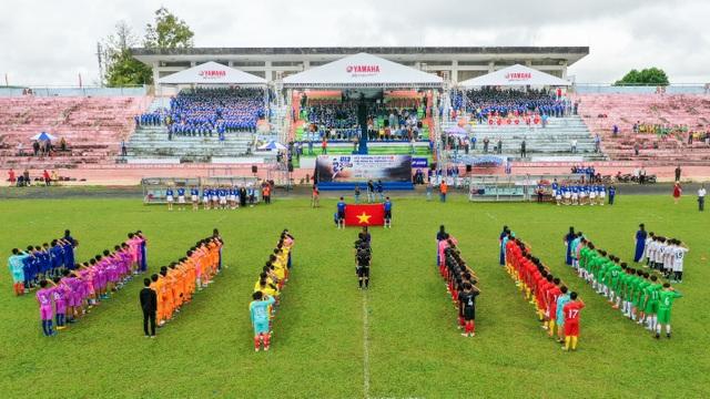 Đắk Lắk sôi nổi tranh tài Giải Bóng đá thiếu niên U13 Yamaha Cup 2019 - 1
