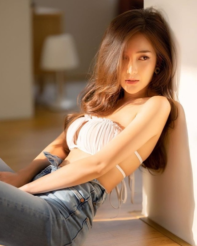 Dung mạo ngắm là yêu của 2 hot girl câu lạc bộ con gái đẹp nhất Thái Lan - 5