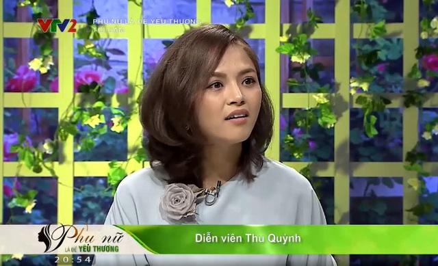 Thu Quỳnh bật khóc khi tiết lộ lý do ký đơn ly hôn Chí Nhân - 2