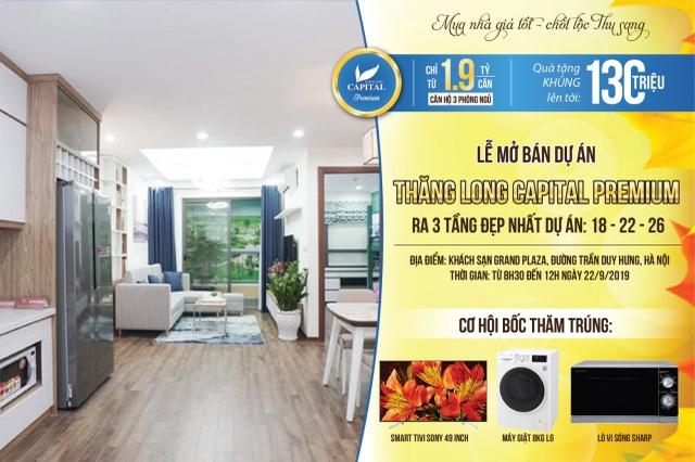 Mở bán đợt cuối dự án Thăng Long Capital Premium - 100 căn hộ view đẹp nhất dự án - 1