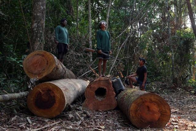 """Thảm cảnh của thổ dân rừng Amazon khi """"lá phổi xanh"""" ngày càng teo nhỏ - 1"""