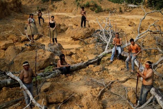 """Thảm cảnh của thổ dân rừng Amazon khi """"lá phổi xanh"""" ngày càng teo nhỏ - 8"""