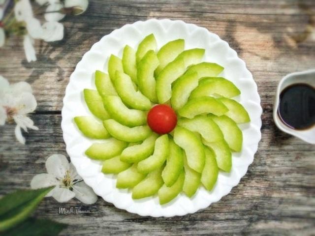 Tròn mắt trước những đĩa rau luộc đẹp như tranh vẽ của bà mẹ Hà thành - 9