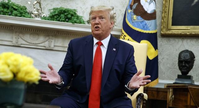 Ông Trump nói Iran tấn công nhà máy dầu Ả rập Xê út - 1