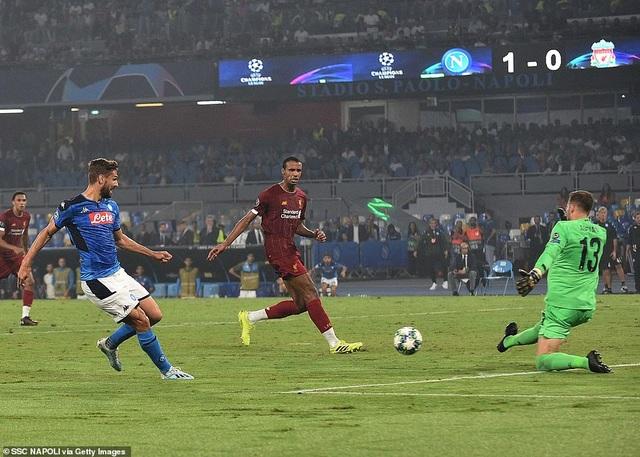 Van Dijk mắc sai lầm, Liverpool bất ngờ gục ngã trước Napoli - 5