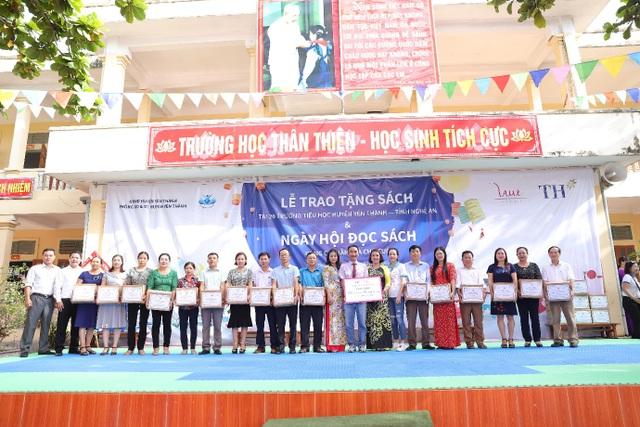 Thêm 20 trường Tiểu học tại Nghệ An hưởng lợi từ việc trang bị tủ sách trong nhà trường - 3