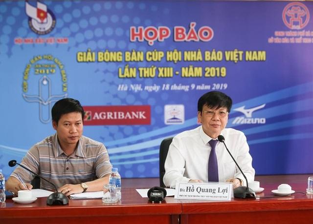 Gần 200 VĐV tranh tài ở giải bóng bàn cúp Hội nhà báo Việt Nam - 1
