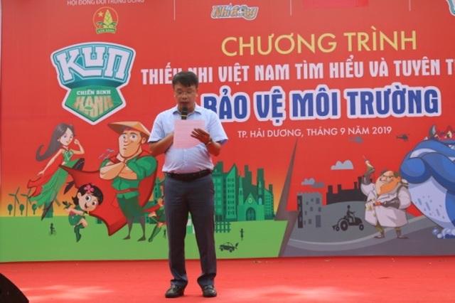 Tưng bừng lễ phát động Thiếu nhi Việt Nam tìm hiểu và tuyên truyền bảo vệ môi trường - 2