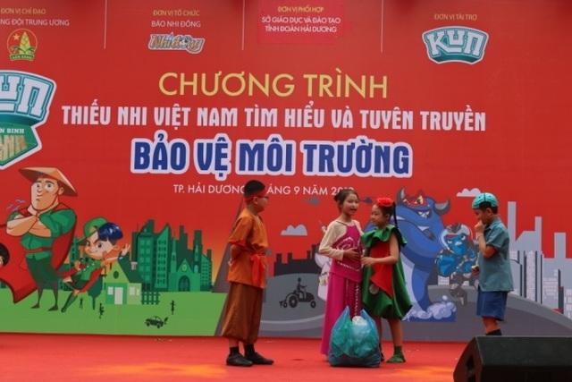 Tưng bừng lễ phát động Thiếu nhi Việt Nam tìm hiểu và tuyên truyền bảo vệ môi trường - 6