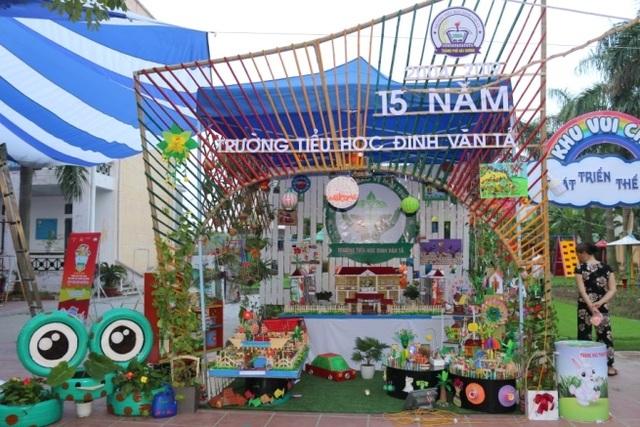Tưng bừng lễ phát động Thiếu nhi Việt Nam tìm hiểu và tuyên truyền bảo vệ môi trường - 8
