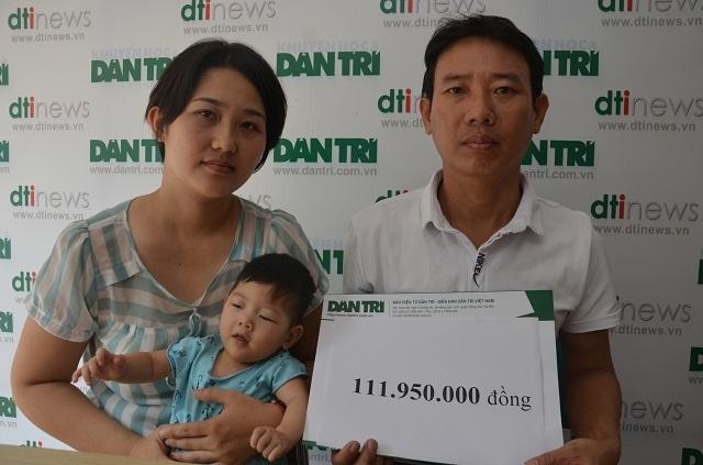 Bé gái 9 tháng tuổi bị tim bẩm sinh được bạn đọc giúp đỡ hơn 140 triệu đồng - 5