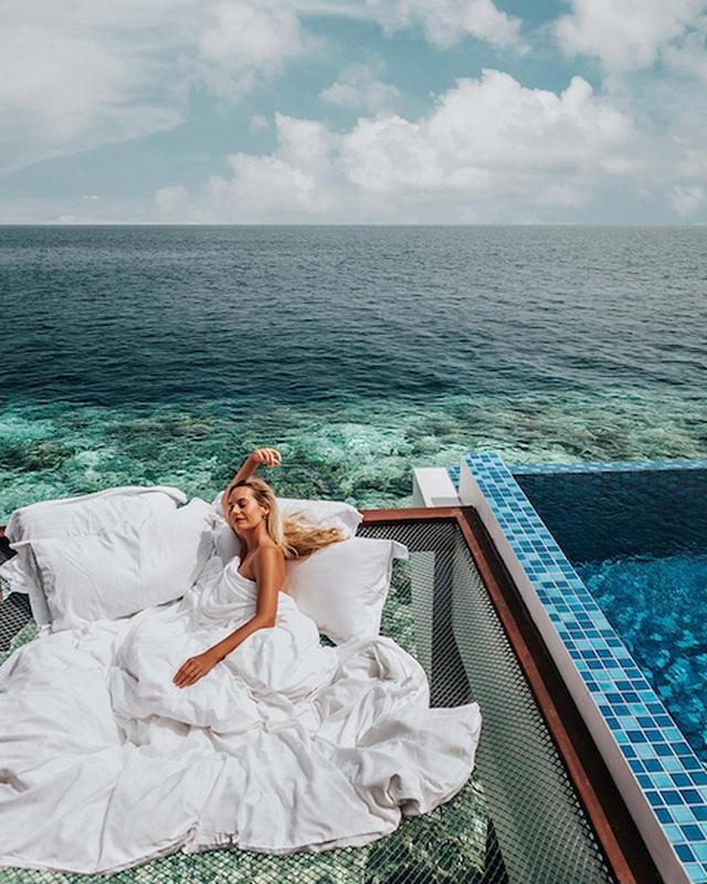 Dưới là đại dương, trên là trăng sao đây có thể là nơi ngủ đẹp nhất thế giới - 2